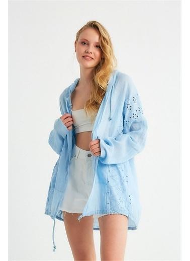 Robin Kimono Mavi